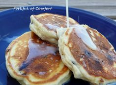 Forkful of Comfort - Cookie Dough Pancakes