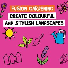 Create colourful and stylish landscapes