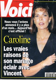 ▬►Voici 419 Caroline Monaco