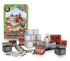 Huge 48 piece Minecraft Action Pack papercraft