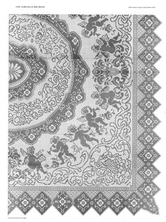 svet05.gallery.ru watch?ph=bDoD-faqXK&subpanel=zoom&zoom=8 Graph Crochet, Filet Crochet Charts, Crochet Mandala, Tapestry Crochet, Crochet Patterns, Crochet Tablecloth, Crochet Doilies, Thread Crochet, Crochet Stitches