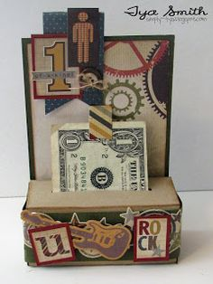 Simply Tya: Scor-Pal and Simple Stories - Money Roll Box