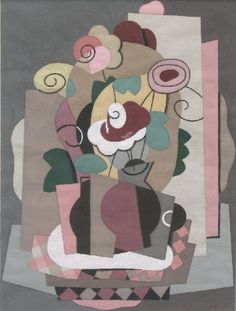 Bouquet de Fleurs by Georges Valmier, Georges Valmier (French 1885-1937), c.1925, gouache, 21.5 x 16 cm