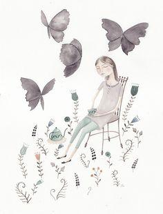 Black Butterflies by Julianna Swaney