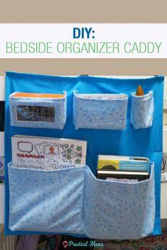 DIY: Bedside organiz