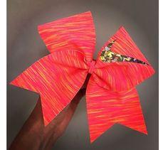 Sunset Nike cheer bow