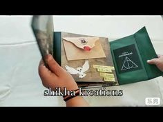 shikha kreations - YouTube Harry Potter Scrapbook, Harry Potter Theme, Harry Potter Diy, Harry Potter Movies, Harry Potter World, Journal Pages, Slytherin, Business Ideas, Ava