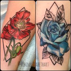 1f9c3992f Had a lot of fun with these matchingish tattoos for some rad ladies today.