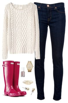 """""""Cable Knit"""" by classically-preppy ❤ liked on Polyvore"""