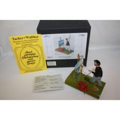 TUCHER WALTHER METAL-TIN ART PAINTER IN BOX LIMITED EDITION VERY RARE 1000
