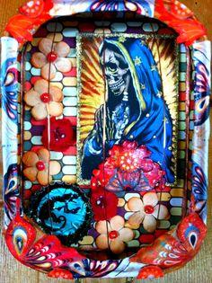 Virgin of Guadalupe Calavera Shrine