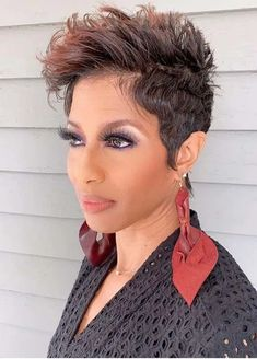 Fashionable Pixie Cuts for Short Hair You Must Try Nowadays   Stylezco Pixie Haircut Styles, Haircut Styles For Women, Pixie Styles, Hairstyles Haircuts, Short Hair Styles, Best Pixie Cuts, Short Hair Cuts, Short Hair Trends, Trendy Haircuts