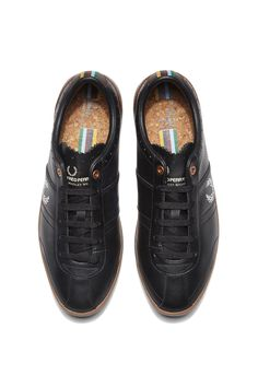 Fred Perry - Bradley Wiggins Stockport Leather Black