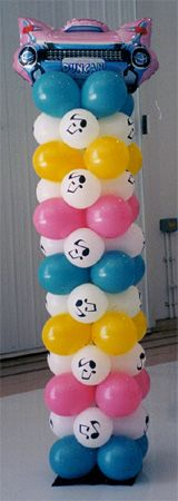 Balloon Decorations for Corporate Functions, Parties and Weddings by Balloon Express