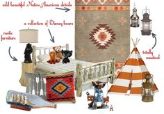 Diz Style - Style the Disney fan way: Disney Inspired Decorating ~ Children's Peter Pan Bedrooms Lost Boys Room