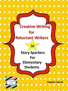 Creative Writing for Reluctant Writers Teaching Main Idea, Creative Teaching, Creative Writing, Teaching Materials, Teaching Resources, Teaching Ideas, Grade 2, Second Grade, Elementary Teacher