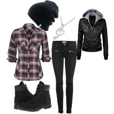 """""""Chilly Wear"""" by marshalee9223 on Polyvore this definitely  what I wear mostly  in winter"""
