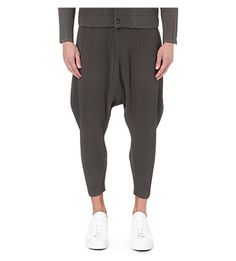HOMME PLISSE ISSEY MIYAKE - Dropped-crotch pleated trousers