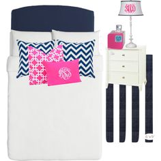 """""""Navy and pink!"""" by danielleperkins on Polyvore"""