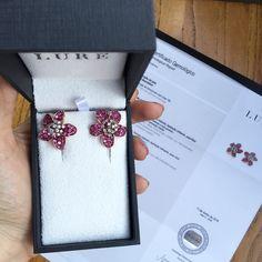 morning flowers!  #jewelery #rubi #gem #love