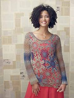 Bloomsbury Top by Tammy Hildebrand Published in Interweave Crochet, Spring 2013