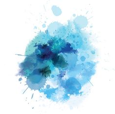 Blue Watercolored Blot Drawing by ArtLana Watercolor Blue Background, Watercolor Wallpaper, Watercolor Logo, Watercolor Texture, Abstract Watercolor, Watercolor Illustration, Backgrounds Wallpapers, Blue Backgrounds, Paint Splash