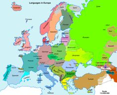 Europe with country names displayed in their native language. European History, World History, Family History, European Languages, World Languages, Country Names, Historical Maps, Social Studies, Genealogy
