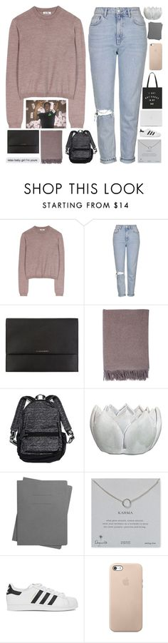 """if i'm gone please don't find me."" by dont-go-to-sleep ❤ liked on Polyvore featuring Acne Studios, Topshop, Burberry, Johnstons of Elgin, Victoria's Secret, Shinola, Dogeared, adidas Originals and mels50kchallenge"