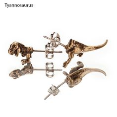 Love these T-rex studs <3 :}}