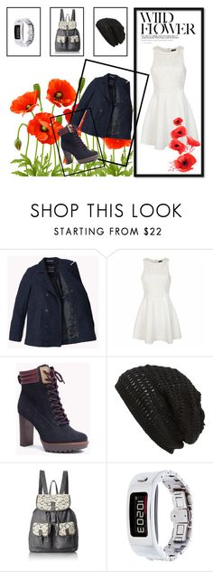 """""""untitled"""" by lover-of-pie ❤ liked on Polyvore featuring Ally Fashion, King & Fifth Supply Co., T-shirt & Jeans and Garmin"""