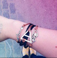 Triad Fanfiction, Bracelets, Jewelry, Fashion, Bangles, Jewlery, Moda, Jewels, La Mode