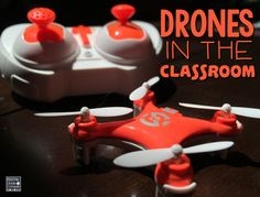 Try something a little different by adding a drone to your class.