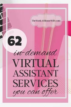 PRINTABLE SERVICE LIST] Virtual Assistant Services You Can Offer From Home If you have been wondering if this is a career path for you, here are 68 Virtual Assistant services that you can offer to business owners.Virtual human Virtual human may refer to: Work From Home Moms, Make Money From Home, Way To Make Money, Money Fast, Make Money Blogging, Make Money Online, Money Tips, Saving Money, Marketing Website