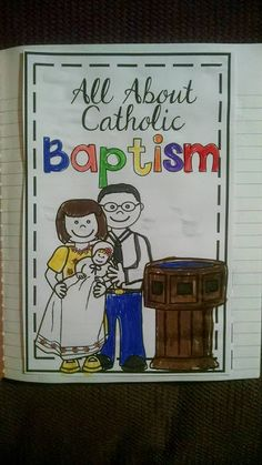 Hi everyone!  Today I want to highlight one of my Catholic religion resources.  I use this when I'm teaching about the Sacrament of Baptism....