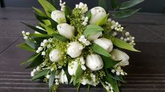 #simple and #elegant #white #spring bouquet