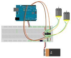 DC Motor Control - Arduino sketch