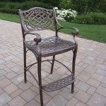 Oakland Living - Mississippi Bar Stool - 2110-AB  SPECIAL PRICE: $318.00