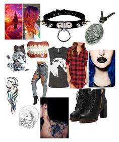 """Supernatural oc"" by reraelusk ❤ liked on Polyvore featuring beauty"