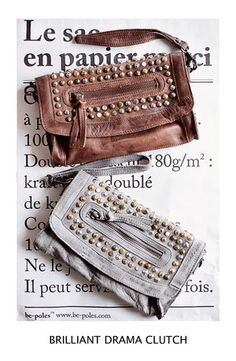 Studded clutch bags ♥