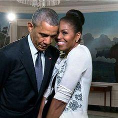 The Obama's are so cute