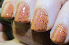 Bearded Lady Nail Polish pumpkin orange by FanchromaticNails