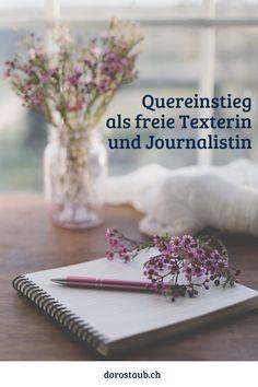 Du möchtest als Quereinsteigerin freie Texterin und Journalistin werden? Ob du eine Ausbildung brauchst und welche das sein soll? Wie du beginnst, Kunden findest, die ersten Schritte tust? In diesem Übersichtsartikel geht es um die Grundlagen, die du brauchst, um den Quereinstieg zu schaffen und dir dadurch ein ortsunabhängiges Schreib-Business aufzubauen. #texterwerden #texterin #schreibbusiness #vomschreibenleben #dorostaub #freileben #quereinstieg #journalist #reporter #freelancewriter