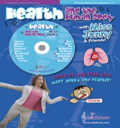 This CD-book set covers basic concepts such as caring for our bodies, staying safe, and brushing our teeth. Children also learn advanced concepts about nerves, their brains, their hearts, and wound repair. A student workbook makes advanced song concepts comprehensible to children.