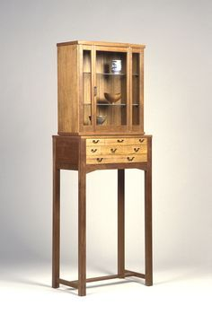 A standing cabinet by master maker James Krenov.
