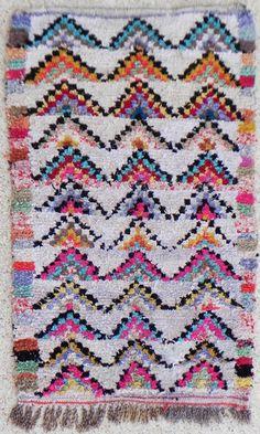 Boucherouite Rug 5#3 - 6 x 3.5