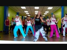 """Born This Way"" by Lady Gaga Zumba routine"