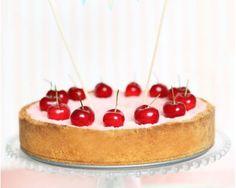 Cheesecake «Le temps des cerises» par le blog Blanc Coco