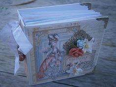 Mini Album with envelope pocket page tutorial - YouTube