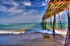 Pier at Outer Banks NC-My heart will always be in the OBX