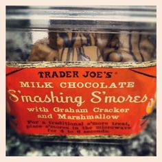 Trader Joe's S'mores...my boys love these...especially after a few seconds in the microwave!!